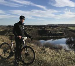 Mountainbiken in Zandvoort